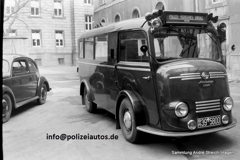 1953 Tempo Matador politie