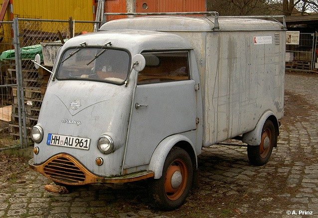 1953 Tempo Wiking Koffer