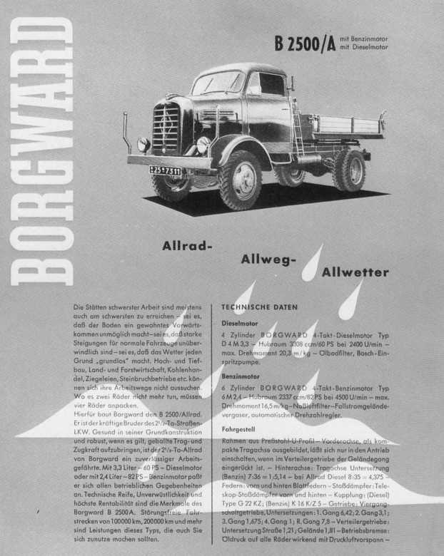 1954-61 Borgward B2500A-f2