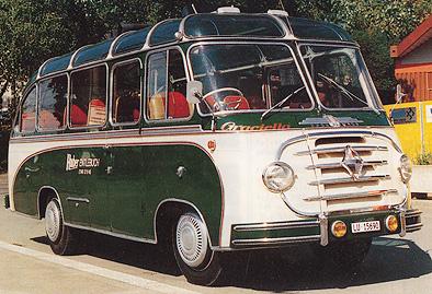 1954 Borgward B 2500  Ottenbacher