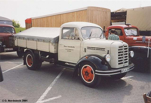 1954 Borgward B 522 Pritschen-Lkw
