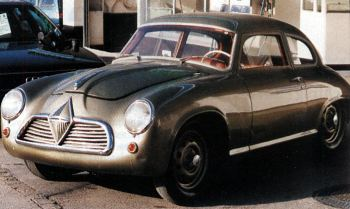 1954 Borgward Hansa 1500 Coupe de course