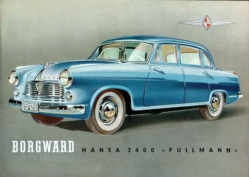 1954 Borgward Hansa Pullmann 2400