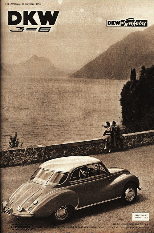 1954 Dkw advert
