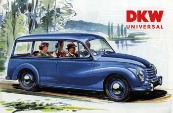 1954 dkw -f91universal