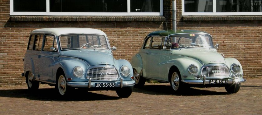 1954 DKW F94 Universal & DKW 1000 Coupe