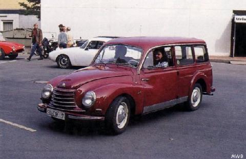 1954 DKW Universal Station Wagon Mwb