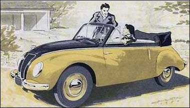 1954 ifa f9 cabrio
