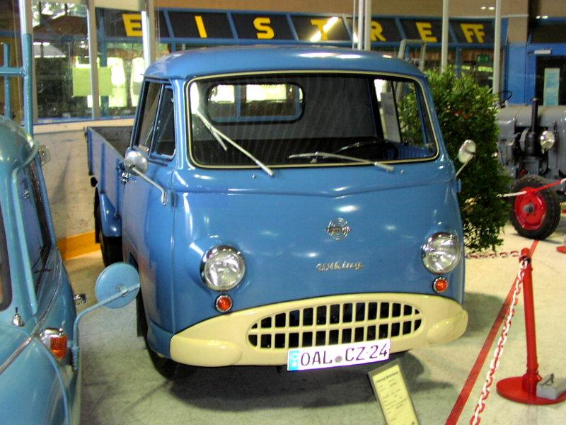 1955-63 Tempo Wiking mit Heinkel-Motora