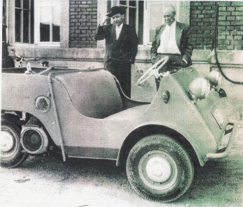 1955 BMW Isetta Jagdwagen hunting car 2