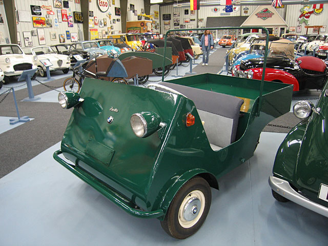 1955 BMW Isetta Jagdwagen hunting car 3