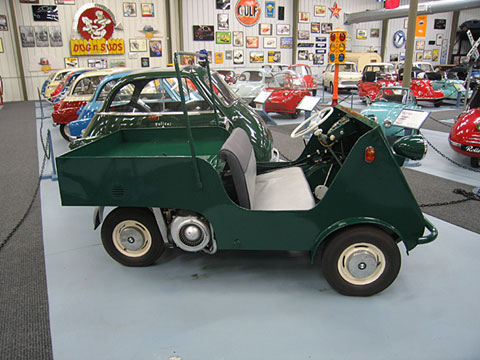 1955 BMW Isetta Jagdwagen hunting car