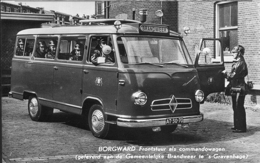 1955 Borgward b611-brandweerbus