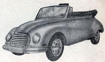 1955 Dkw 3=6 cabrio