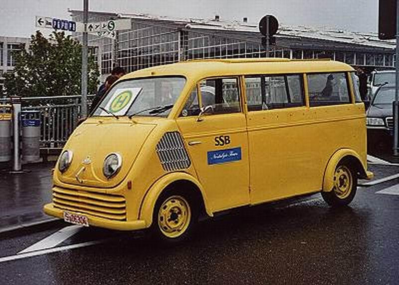 1955 DKW Auto Union 3-6 F800-3