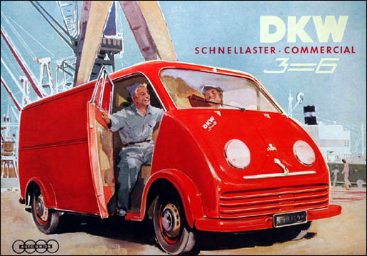 1955 DKW F89L Catalogue