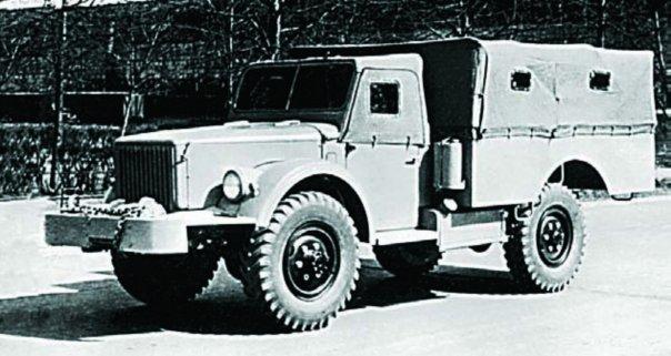 1955 GAZ-62A, 4x4