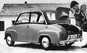1955 goggomobil tyl