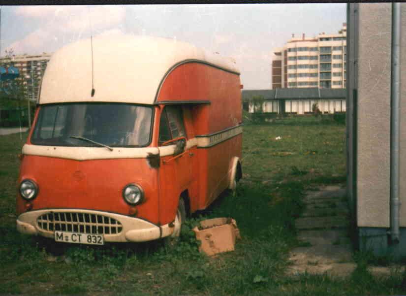 1955 Tempo Matador I Möbelwagen