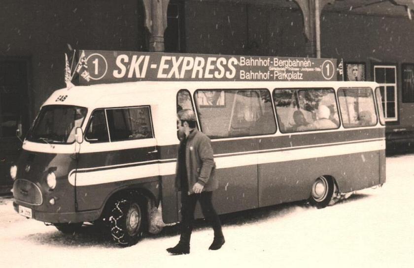 1955 Tempo Matador Minibus Ski Express