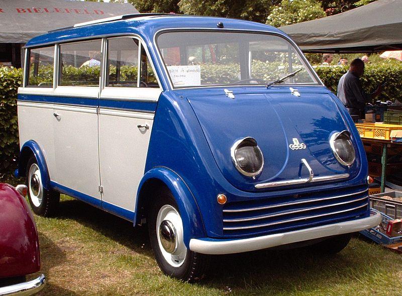 1956 Auto Union Dkw schnellaster bus