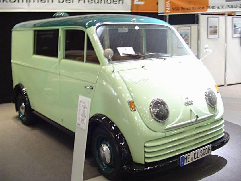 1956 Auto Union Van