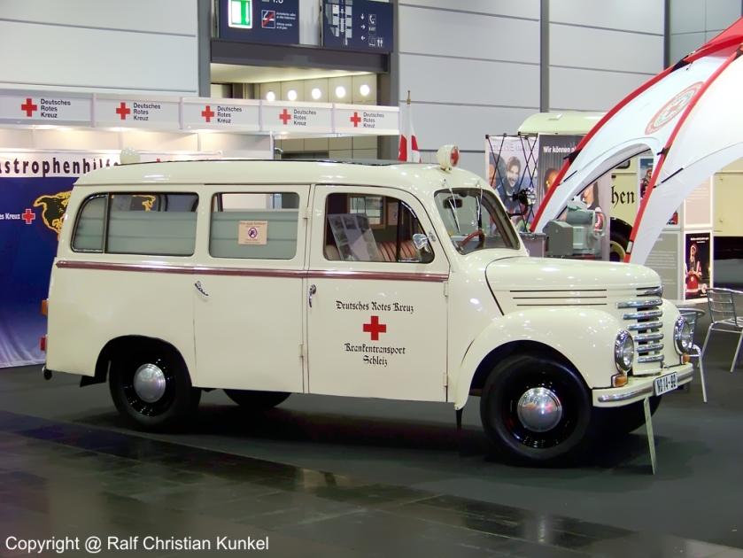 1956 Barkas V 901