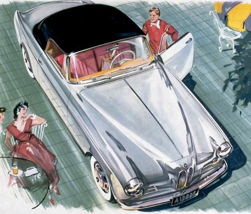 1956 BMW 503a