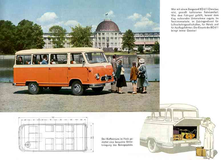 1956 Borgward b 611 34