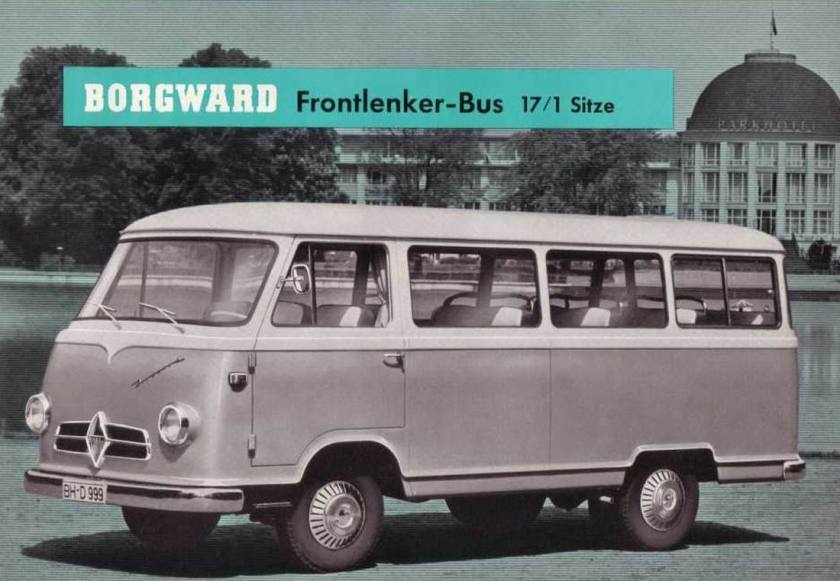1956 Borgward B611-bus