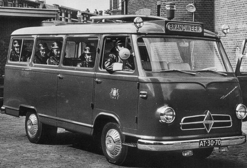1956 Borgward Brandweerbus
