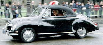 1956 Dkw 3=6 cabrio