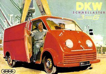 1956 Dkw 3=6 schnellaster