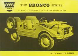1956 DKW Bronco 4WD