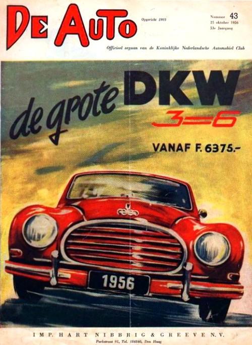 1956 Dkw de auto
