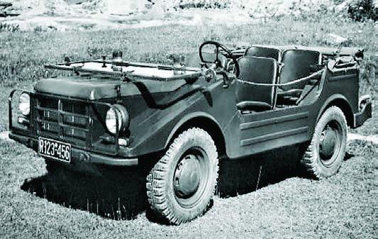 1956 DKW F91-4, 4x4