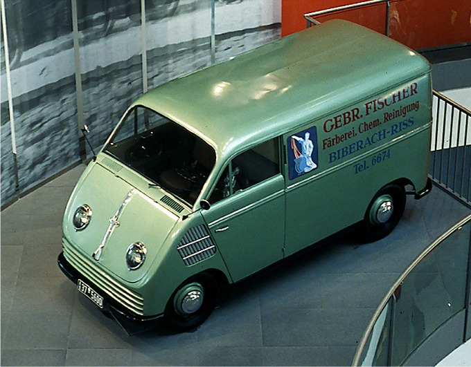 1956 DKW Schnelllaster- museum mobile 2003
