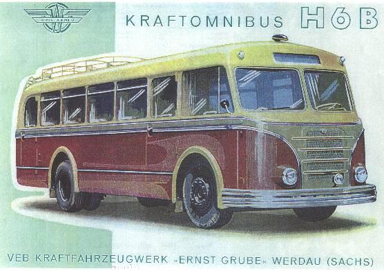 1956 Ernst Grube Omnibus h6b 1