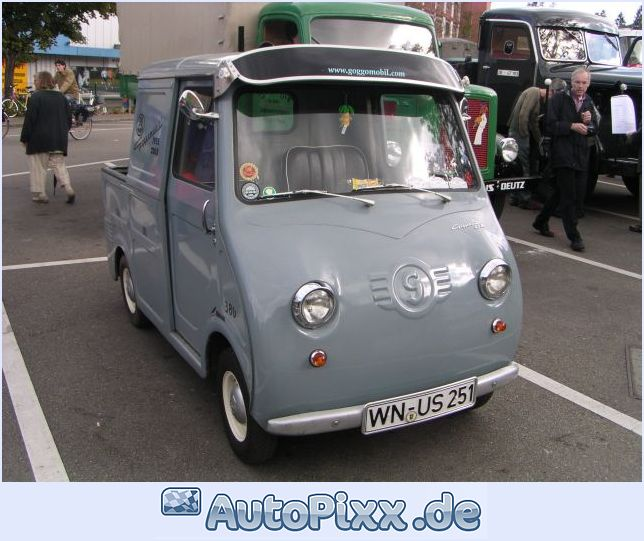 1956 Goggomobil Pick Up