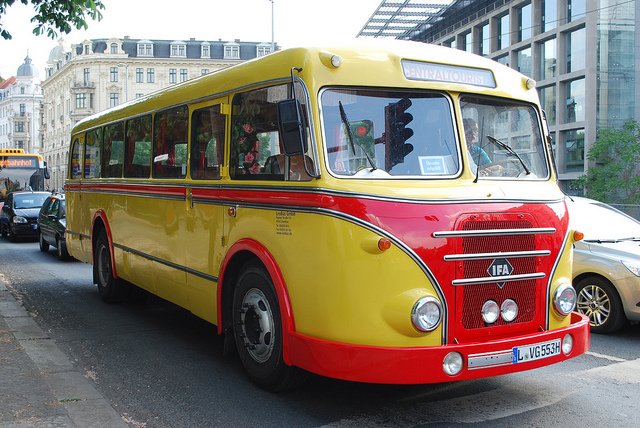1956 IFA Bus Leipzig