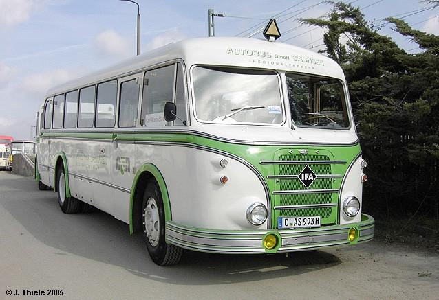 1956 IFA H6B Linienbus