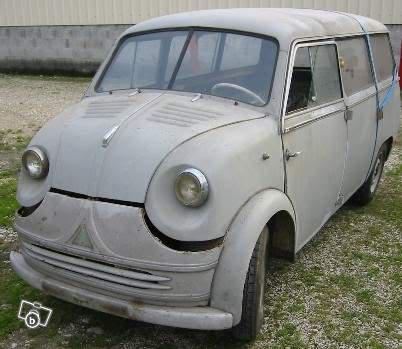 1956 Lloyd LT600LBC