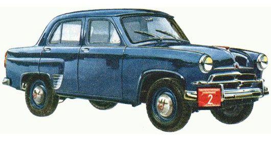 1956 Moskvitch 402