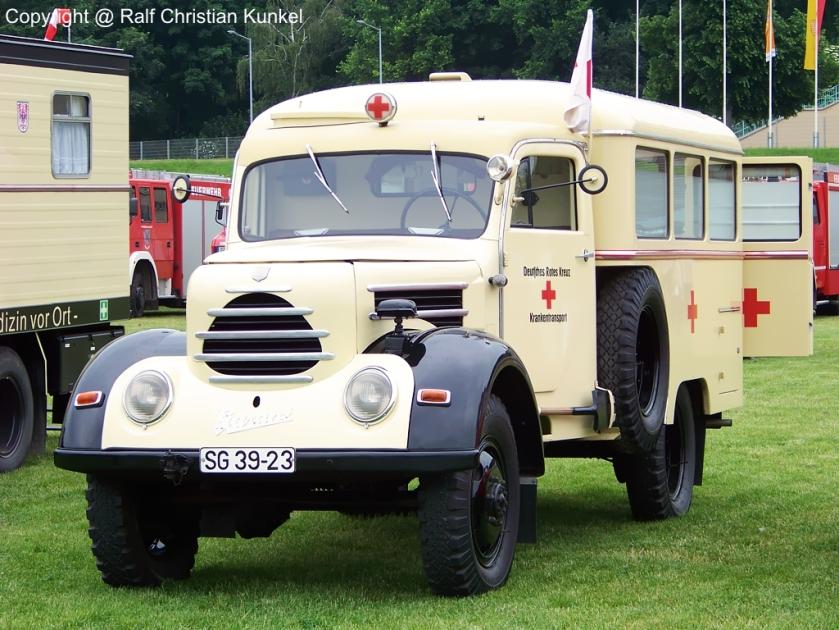 1956 Robur Garant krankentransportwagen
