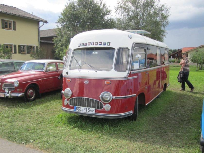 1956 Tempo Matador Camper BGL