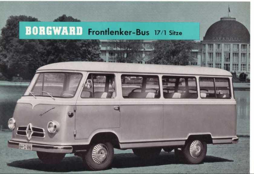 1957-61 Borgward B 1500 F  B 611