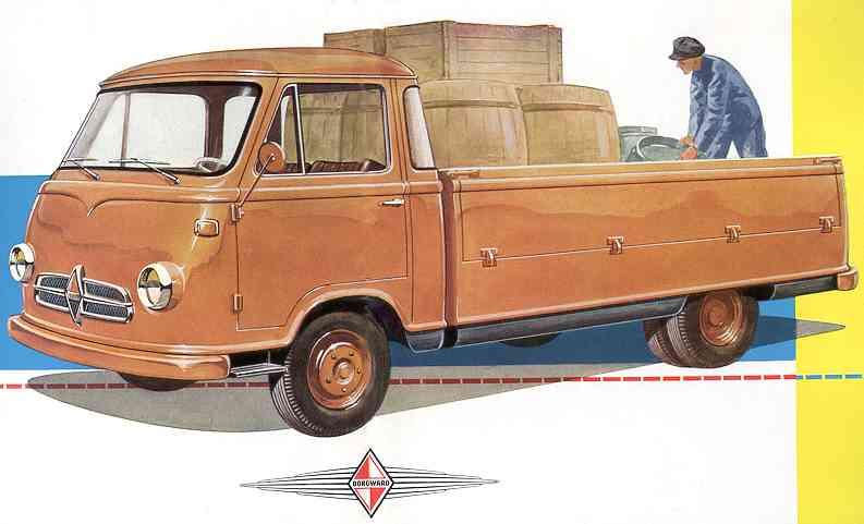 1957-62 borgward 611 02