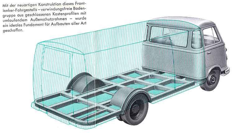 1957-62 borgward 611 09