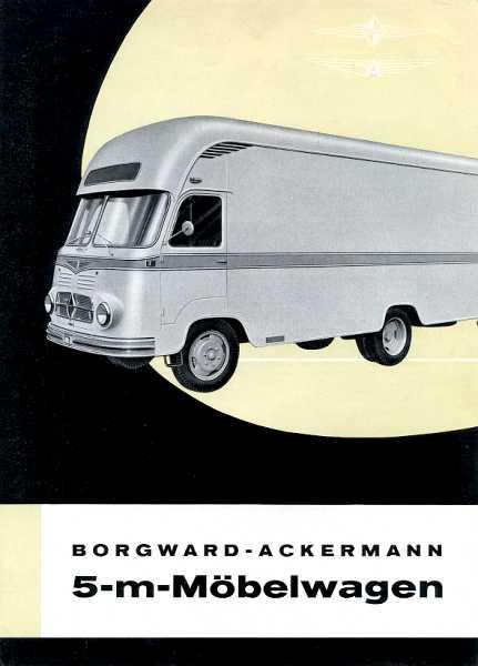 1957-62 Borgward b 611 19