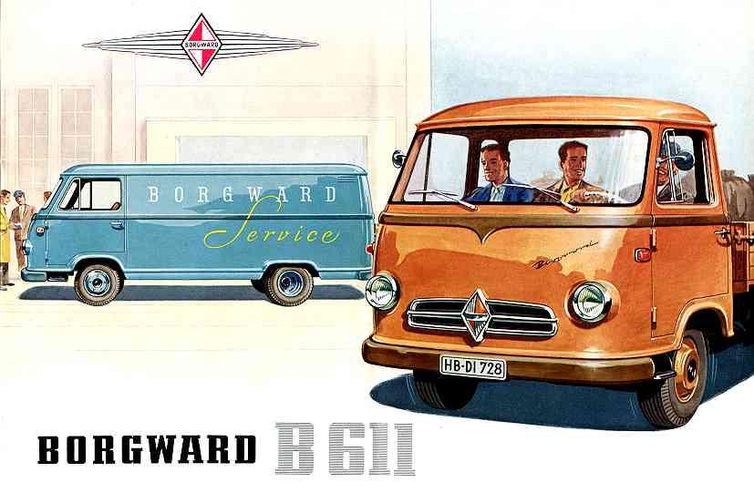 1957-62 Borgward b 611 25